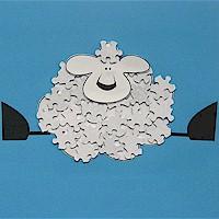 Puzzle Piece Lamb
