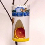 Image of Cardboard Tube Bird Feeders