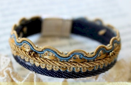 DIY Denim Bracelet