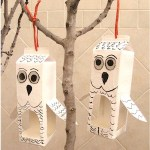 Image of Graham Cracker Bird Feeders