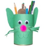 Image of Recyled Elephant Pencil Holder