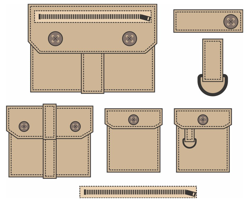 picture regarding Printable Vest Pattern titled Paper Bag Safari Vest