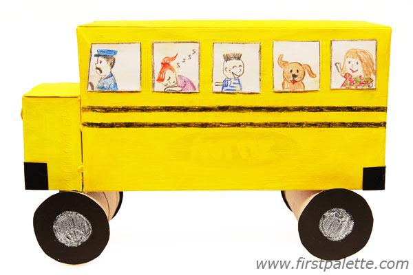 Image of Shoebox School Bus