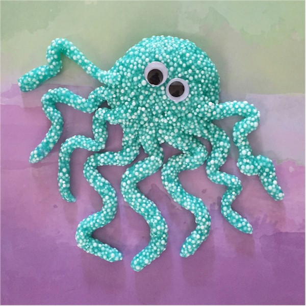 Image of Floam Octopus Sculpture