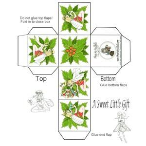 Image of Make A Mini Christmas Gift Box