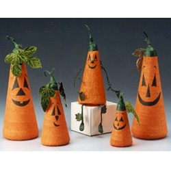Image of Smiling Pumpkin Faces