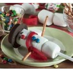 Image of Melted Snowman Cookies