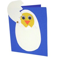 Spring Chicken Greeting Card