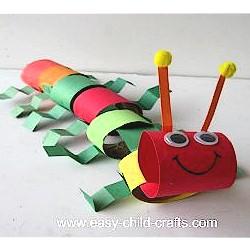 Image of Cardboard Tube Caterpiller