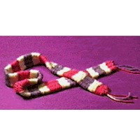 Soda Straw Weaving Loom