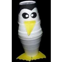 Styrofoam Cup Penguin