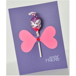 Sweetest Friend Lollipop Card