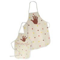 Mom and Me Thanksgiving Apron
