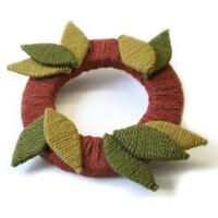 Fall Yarn Wreath