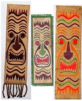 Image of Tiki Tapa Bookmarks