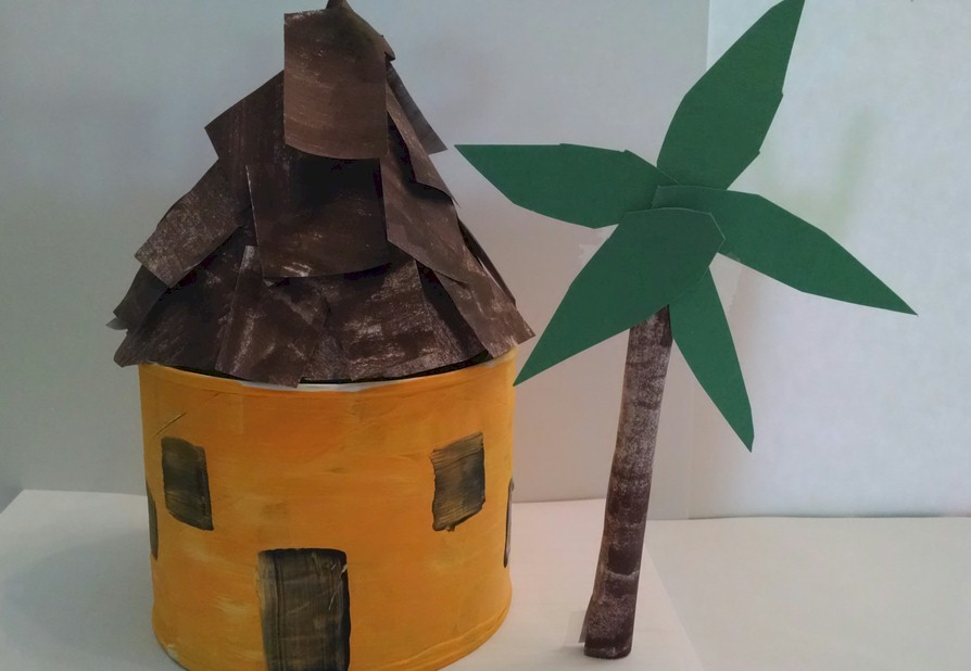 Image of Tin Can Tropical Hut