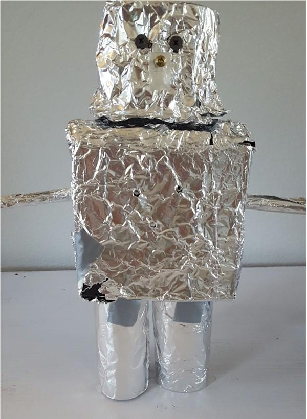Tin Foil Robot