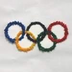 Image of Winter Olympic Scrap Art