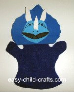 Image of Triceratops Hand Puppet