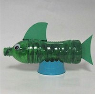 Recycled Water Bottle Fish