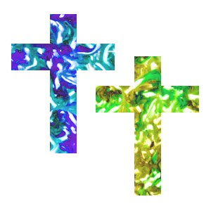 Image of Make A Window Cling Cross
