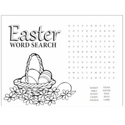 Image of Easter Word Search