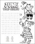 Image of Summer Word Puzzles