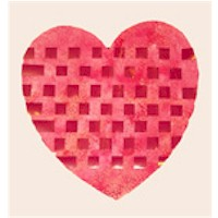 Image of Woven Valentine Heart