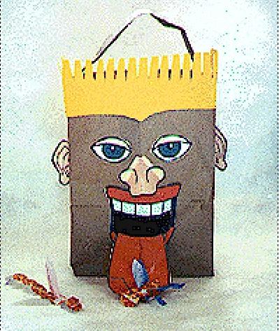Yucky Bag Head