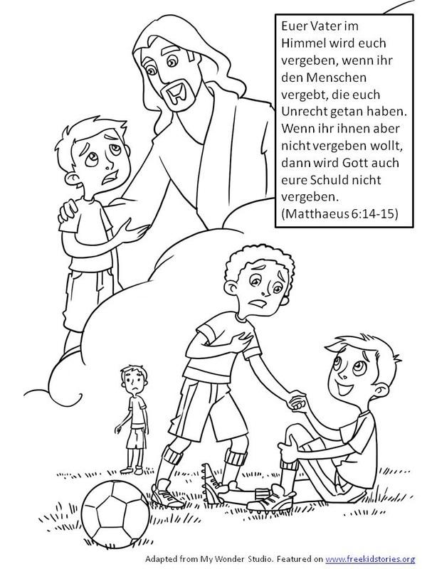 Bibelverse Fr Kinder Vergebung FREEKIDSTORIES