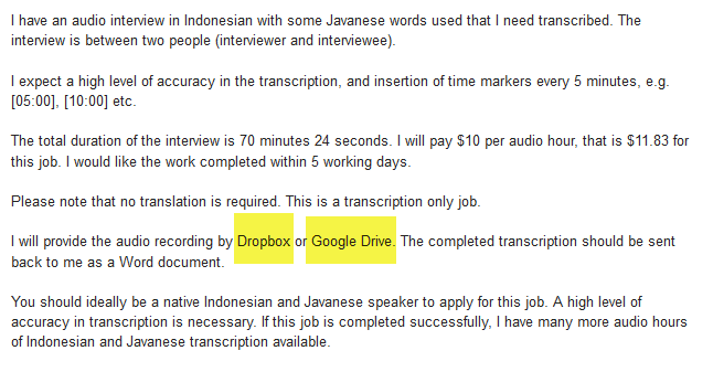 Google Drive File Sharing Service