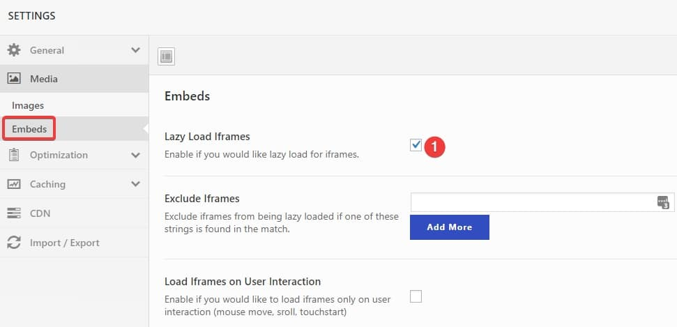 Swift Performance plugin default settings - Freelancers tools 07