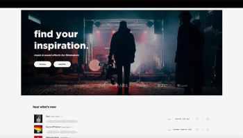 Audiio.com stock music