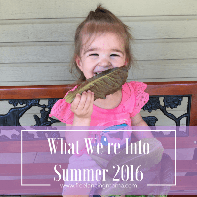 What We're Into: Summer 2016