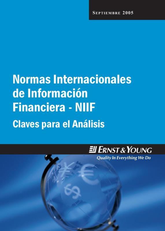 Normas internacionales de información Financiera – NIIF: Claves para el Análisis
