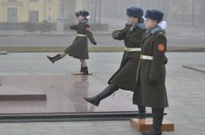 Pioneers at the Victory Square, foto: Ilya Kuzniatsou