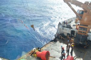 Listening to the deep, foto: Coast Guard news