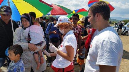 Macedonia, Gevgelija, 24 August, 2015, foto: Corinne Ambler IFRC