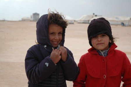 Winter 2013 in Zaatari refugee camp, foto: Oxfam International