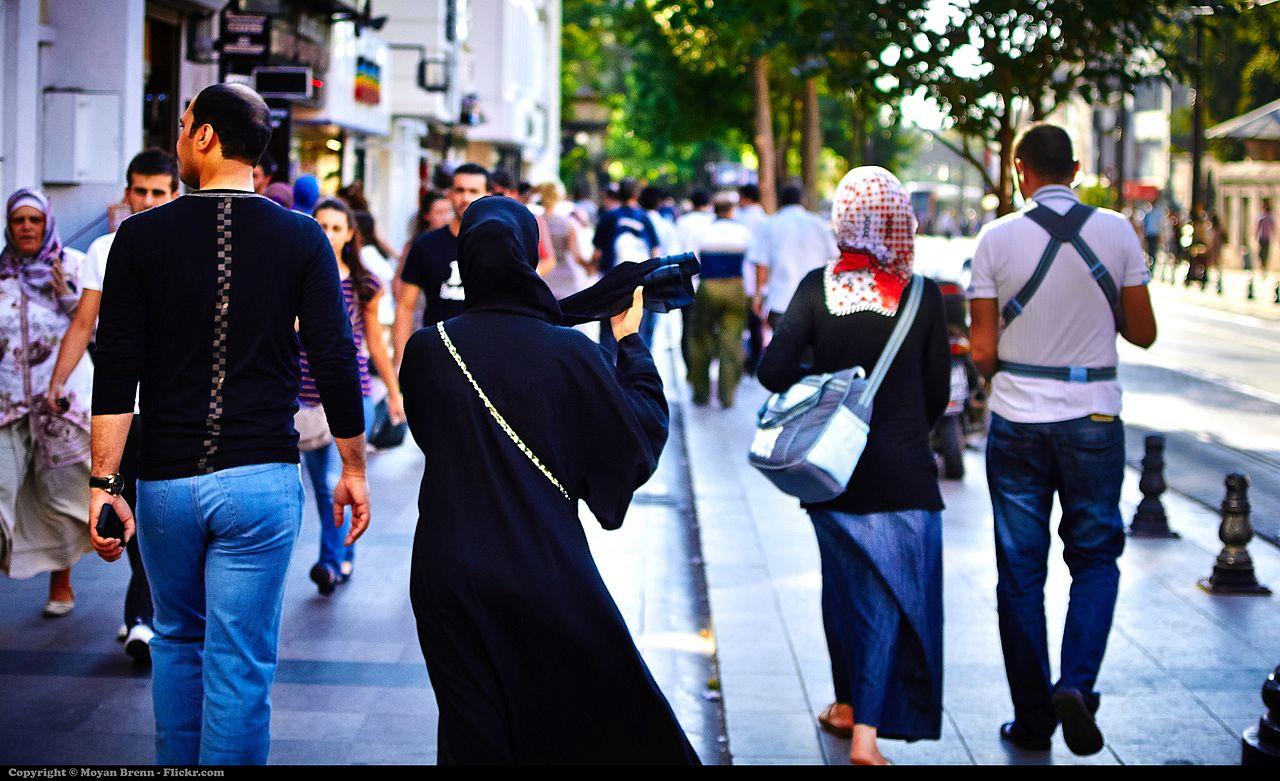 Burqa by Moyan Brenn