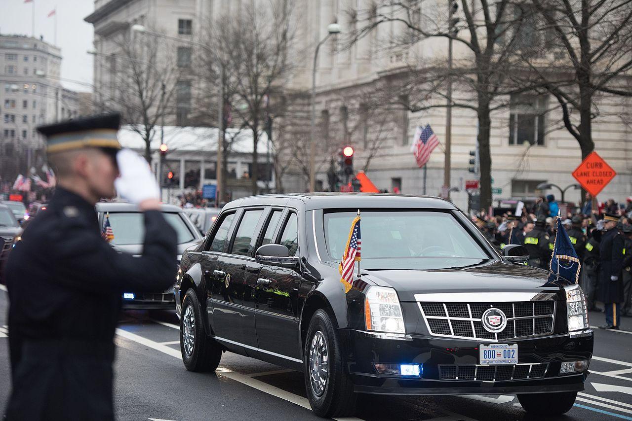 Trump Inauguration, U.S. Army photo by Pvt. Gabriel Silva