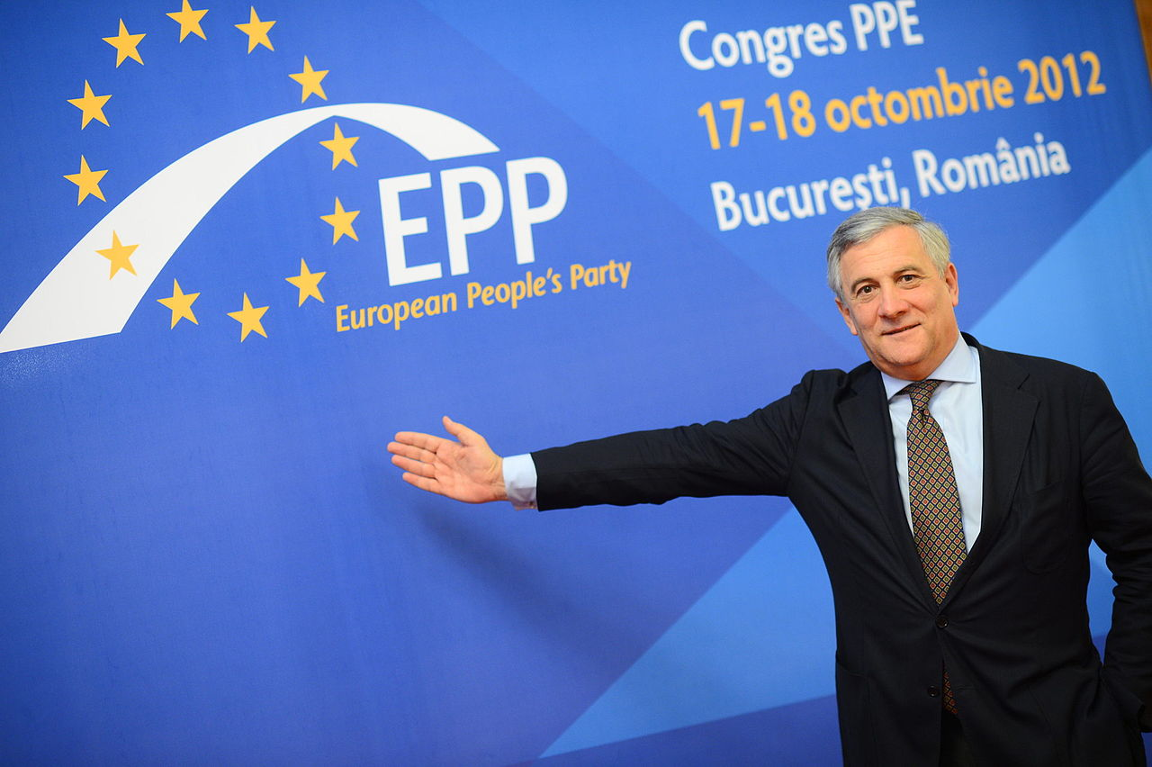 Antonio Tajani, photo European People's Party