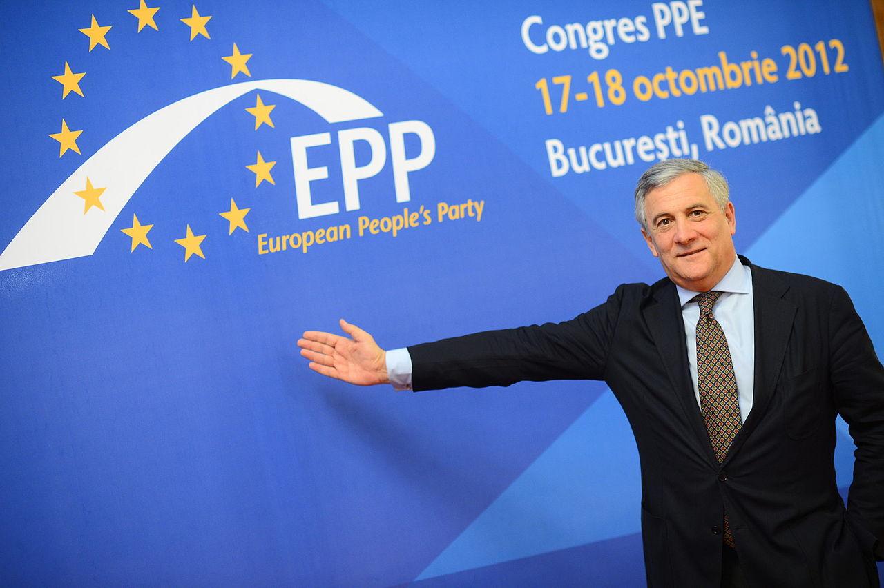 Antonio Tajani, photo European People's Party