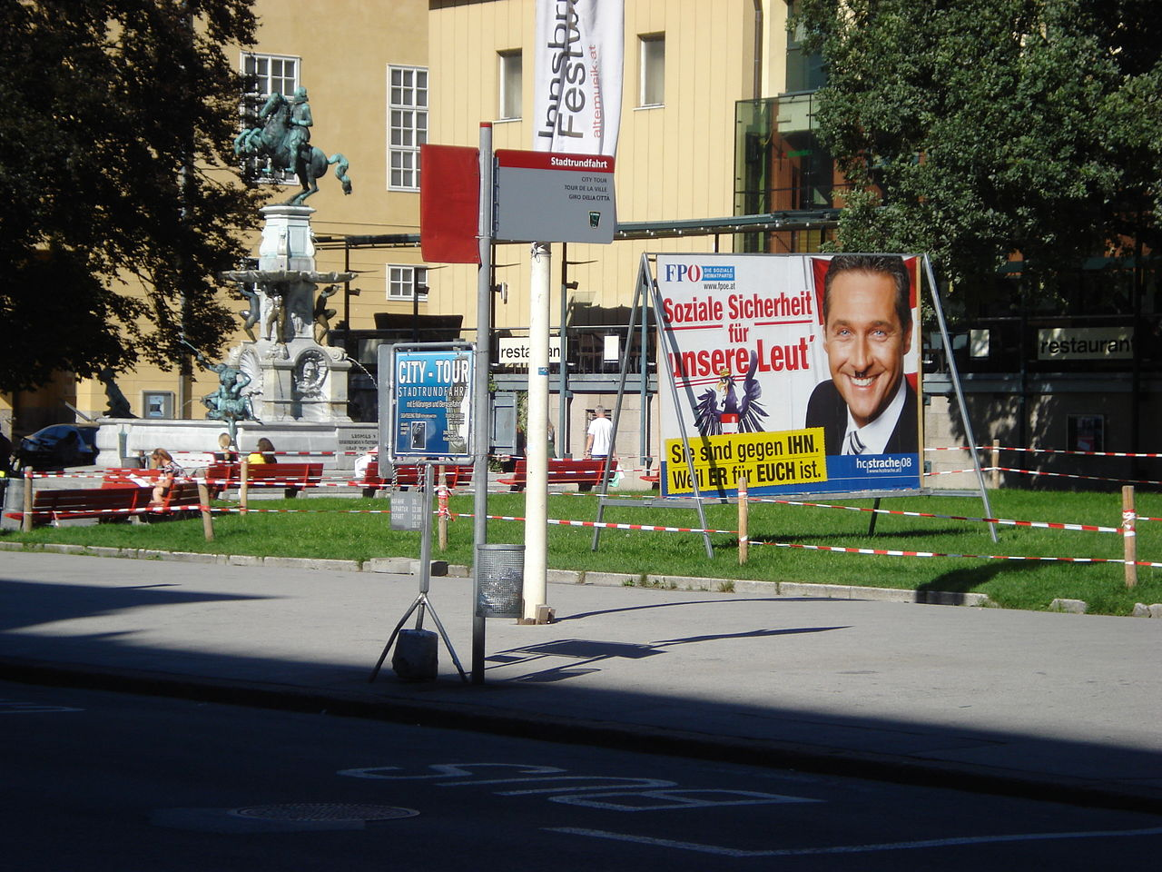Freedom Party of Austria Billboard, photo by Jolly Janner