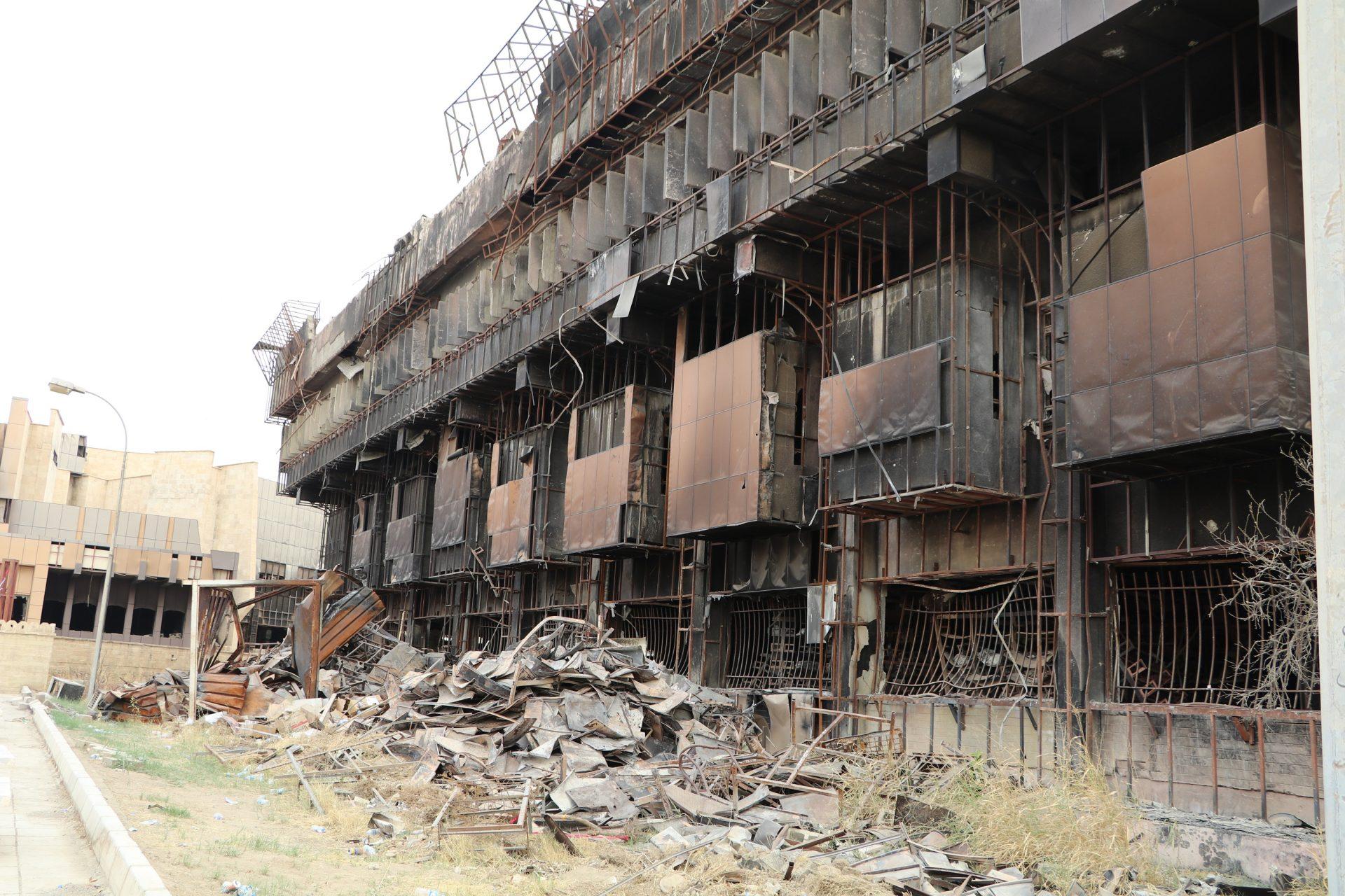 Knihovna Mosul, foto Tatiana Gavyuk
