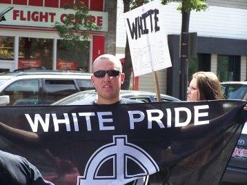 Aryan Guard in Kensington, Calgary, Canada, photo by Thivierr