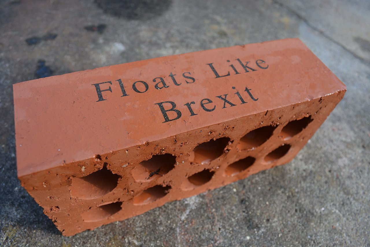 The Brexit Brick by Ashley Basil