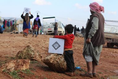 Hazano camps, Syria, Sari Haj Jneid, People in need