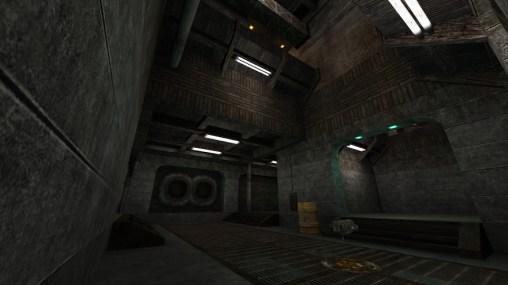 quake level, level design, industrial, factory