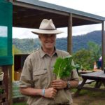 Lieutenant Colonel David spinach organic farmer